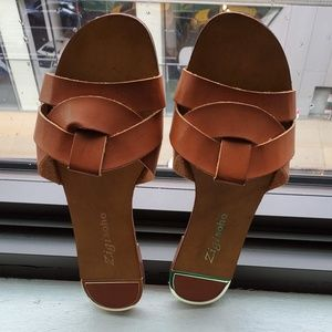 Zigi Soho Wilamina Women Sandal Chestnut Brown 7.5